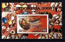 Indonesia 1997  ZB 1772**,  Yv. Bf 115**, Mi Bl 138** MNH Indonesia 2000 - Indonésie