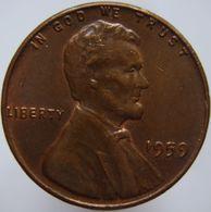 United States 1 Cent 1959 VF / XF - Emissioni Federali