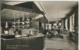 Baden Bei Wien V. 1964  Cafe Ebruster  (52966) - Non Classificati