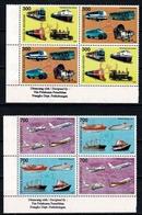 Indonesia 1997  ZB 2 X 1794/97**,  Yv. 2 X 1533/36**, Mi 2 X 1720/23** Transport - Indonésie