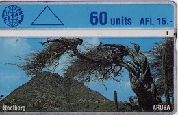 TARJETA TELEFONICA DE ARUBA. 503B, ARBOL, HOOLBERG (005) - Aruba