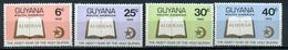 1968 - GUYANA - Mi. Nr. 322/325 - NH - (CW4755.10) - Guiana (1966-...)