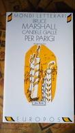 """Candele Gialle Per Parigi"", Bruce Marshall - Jaca Book, 1996 Pp. 294 - Libri, Riviste, Fumetti"