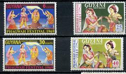 1969 - GUYANA - Mi. Nr. 330/333 - NH - (CW4755.10) - Guyana (1966-...)