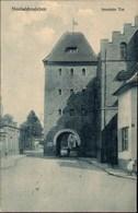! Alte Ansichtskarte Neuhaldensleben, Stendaler Tor, Stadttor, 1915, Verlag Raphael Tuck - Haldensleben