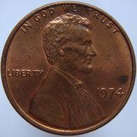 Združene Države Amerike 1 Cent 1974 AUNC/UNC - Emissioni Federali