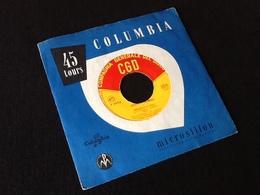 Vinyle 45 Tours  Johnny Dorelli Boccuccia Di Rosa (1958) - Vinyl Records
