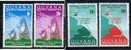 1969 - GUYANA - Mi. Nr. 326/327 - NH - (CW4755.10) - Guiana (1966-...)