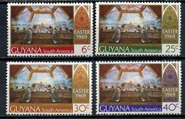 1969 - GUYANA - Mi. Nr. 334/337 - NH - (CW4755.10) - Guiana (1966-...)