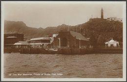 The War Memorial, Prince Of Wales Pier, Aden, C.1910s - Pallonjee, Dinshaw & Co RP Postcard - Yemen
