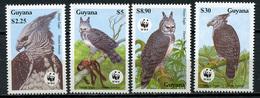 1990 - GUYANA - Mi. Nr. 3077/3080 - NH - (CW4755.11) - Guiana (1966-...)