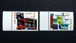 Island 1038/9 A **/mnh, EUROPA/CEPT 2003, Plakatkunst - 1944-... Republik