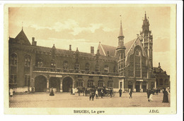 CPA - Carte Postale -BELGIQUE -Brugge - Bruges - La Gare- S555 - Brugge