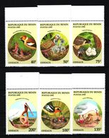 A17. Benin - MNH - Animals - Birds - Vögel