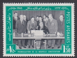 Afghanistan, Scott 720 1965 New Constitution, Mint Never Hinged - Afghanistan