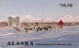 *STATI UNITI - ALASKA* - Scheda A Chip Usata - United States