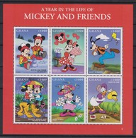 2211  WALT DISNEY   GHANA  ( MICKEY AND FRIENDS ) - Disney
