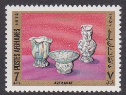 Afghanistan, Scott 875 1972 Ceramics 7at Multi Color, Mint Never Hinged - Afghanistan