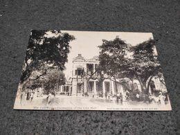 ANTIQUE POSTCARD CHINA HONG KONG CELEBRATION DECORATION OF THE CITY HALL 1919 UNUSED - China (Hong Kong)