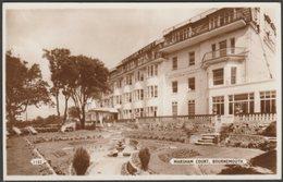 Marsham Court, Bournemouth, Hampshire, C.1940s - Dearden & Wade RP Postcard - Bournemouth (until 1972)
