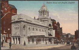 Cinema House And Fargate, Sheffield, Yorkshire, C.1915 - Valentine's Postcard - Sheffield