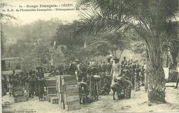 LEKETI - DEBARQUEMENT DES COLIS (ref 2461) - Congo Français - Autres