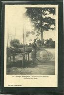 SAINT LOUIS DE L' OUBANGHI - FABRICATION DES NASSES (ref 2462) - Congo Français - Autres