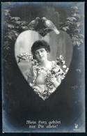 B4794 - Mode - Hübsche Junge Frau Porträt - Pretty Young Women - Photographie