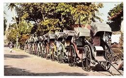 CEYLON - SRI LANKA -  Rickshaws, Colombo - POUSE POUSSE - Sri Lanka (Ceylon)