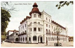 CEYLON - SRI LANKA -  Queen's Hotel, Kandy, Ceylon - Sri Lanka (Ceylon)