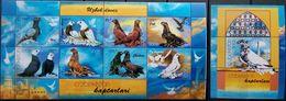 Kazakhstan, 2007, Mi. 588-89, Y&T 503-04, Animals, Lion, Zebra, Elephant, Birds, MNH - Kazakhstan