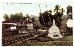 CEYLON - SRI LANKA -  The Temple Of The Sacred Tooth, Kandy, Ceylon - Sri Lanka (Ceylon)