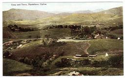 CEYLON - SRI LANKA -  Camp And Town, Diyatalawa, Ceylon - Sri Lanka (Ceylon)