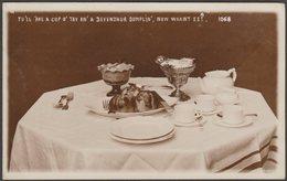 Yu'll 'ave A Cup O' Tay An' A Devenzhur Dumplin', Now Waant Ee?, C.1910 - RP Postcard - England