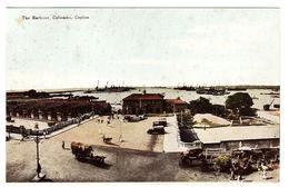 CEYLON - SRI LANKA -  THE HARBOUR, COLOMBO, Ceylon - Sri Lanka (Ceylon)