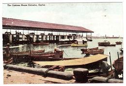 CEYLON - SRI LANKA -  The Customs House, Colombo, Ceylon - Sri Lanka (Ceylon)