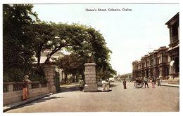 CEYLON - SRI LANKA -  Queen's Street, Colombo, Ceylon - Sri Lanka (Ceylon)