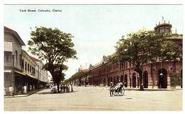 CEYLON - SRI LANKA -  York Street, Colombo, Ceylon - Sri Lanka (Ceylon)