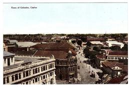 CEYLON - SRI LANKA -  Town Of Colombo, Ceylon - Sri Lanka (Ceylon)