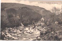 ES LLIVIA - Cascada Rio Segra - Attelage De Boeufs - Animée - Belle - Gerona