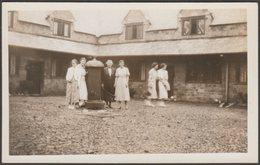 The Alms Houses, Barnstaple, Devon, 1937 - RP Postcard - England