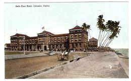 CEYLON - SRI LANKA -  Galle Face Hotel, Colombo, Ceylon - Sri Lanka (Ceylon)