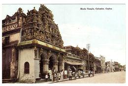 CEYLON - SRI LANKA -  Hindu Temple, Colombo, Ceylon - Sri Lanka (Ceylon)