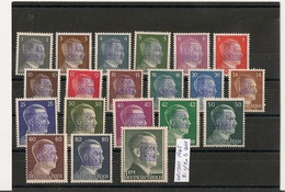 Wurzen ( Sachsen ) 1945 - Mi 1/20B MNH With Overprinting In Blue Purple. - Zone Soviétique