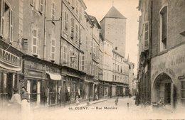 71. Cluny. Rue Mercière - Cluny