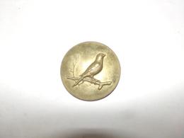Médaille En Métal Oiseau Sur Une Branche   ( 51 Gr 5 Cm ) - Ohne Zuordnung