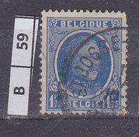 BELGIO 1927re Alberto 1,75 Fr Usato - 1922-1927 Houyoux