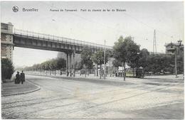 Bruxelles NA138: Avenue De Tervueren. Pont Du Chemin De Fer De Woluwé 1909 ( Tramway ) - Transport Urbain En Surface