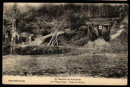 La Guerre En Lorraine - Le  Village Nègre - Poste De Secours - Francia