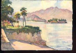 CPM Neuve Arts Peinture Franz MARC Lago Maggiore Isola Bella Vista Da Stresa - Pittura & Quadri